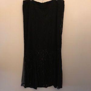 Dresses & Skirts - torrid   Plus size lacy maxi skirt   2X